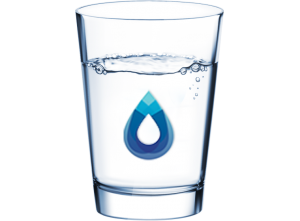 mineral glass water